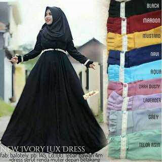 Ivory Lux Dress