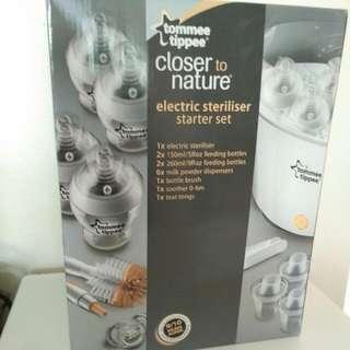 Tommee Tippee Electric Steriliser Set.
