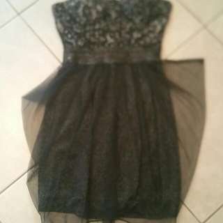 Strapless Dress - Size Xs