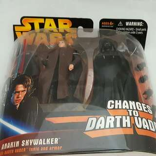 Extremely RARE STAR WARS Anakin Skywalker Changes To Darth Vader!