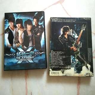 💿 终极一家 The X-family 电视原声带 CD+DVD