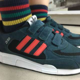 Adidas魔鬼氈 運動鞋(9成新)