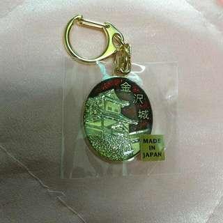 [全新]日本製金沢城鑰匙圈