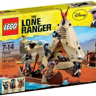 Lego The Lone Ranger Comanche Camp 79107