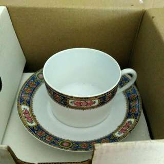 Cup And Saucer Ch. Field Haviland Limoges (Brand New)