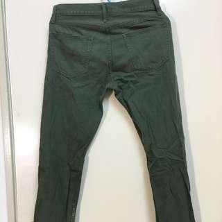 Uniqlo玩色牛仔褲