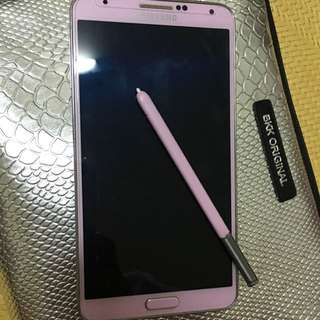 Note3手機16G粉色
