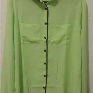 Green Summer Shirt