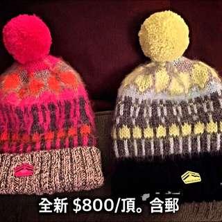 極度乾燥super dry 毛帽
