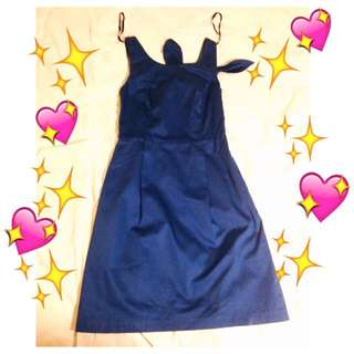 Blue Dress from Warehouse