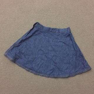 Highwaist Denim Skirt