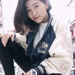 🚚 💖謝謝客人分享橫須賀刺繡外套💖