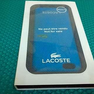 iPhone 6 4.7吋 正版Lacoste藍色保護殼