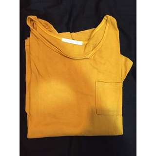 薄 黃 長袖