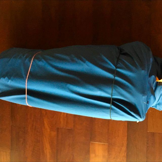 (9成新)自動充氣式~氣墊床