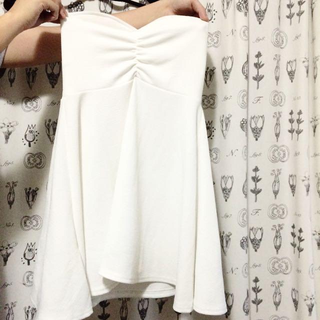 平口小洋裝