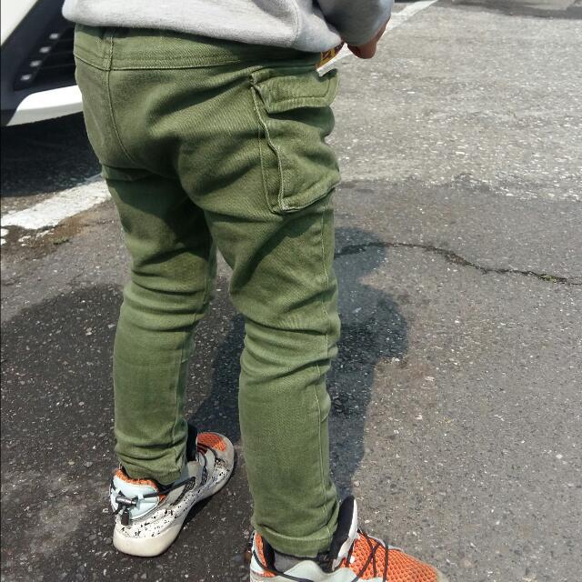 帥氣大口袋長褲