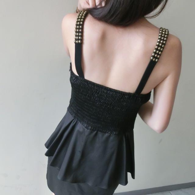 限時降價👇🏻專櫃黑色卯釘洋裝