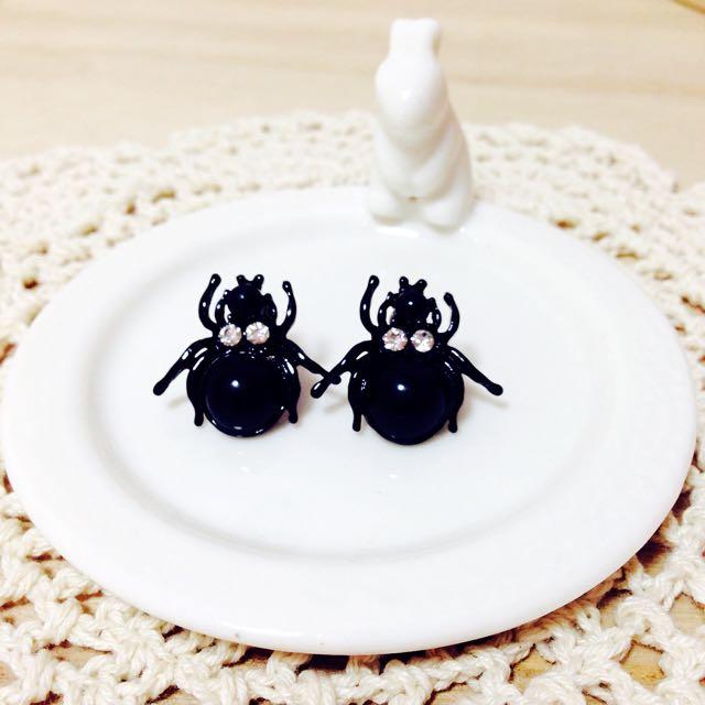 金龜子造型耳環