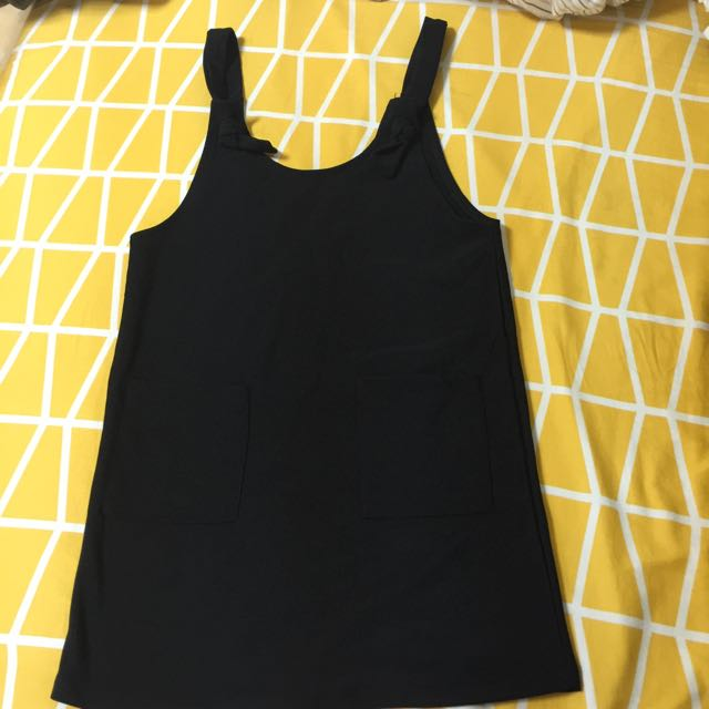 📍降‼️黑色可愛吊帶裙📍