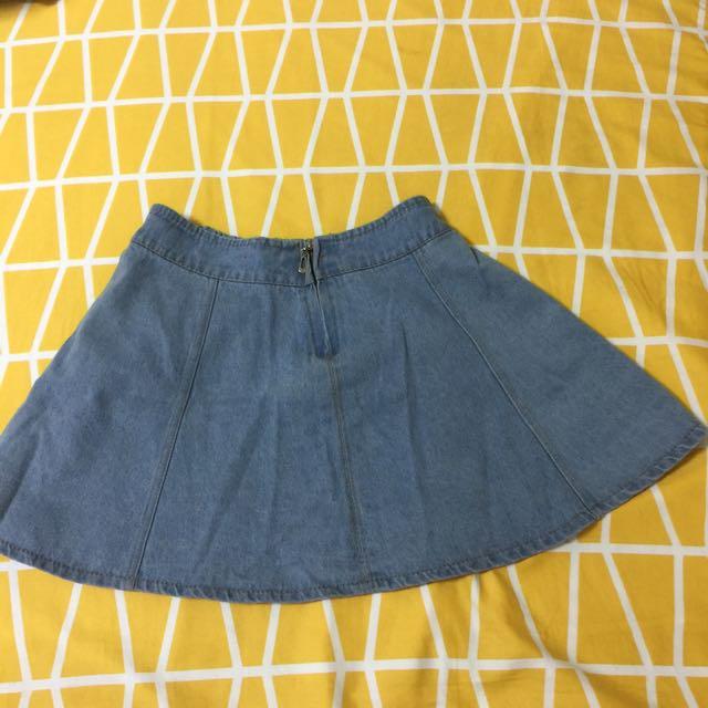 📍降‼️淺藍牛仔短裙📍