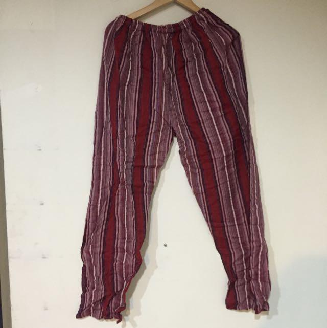 民族風長褲