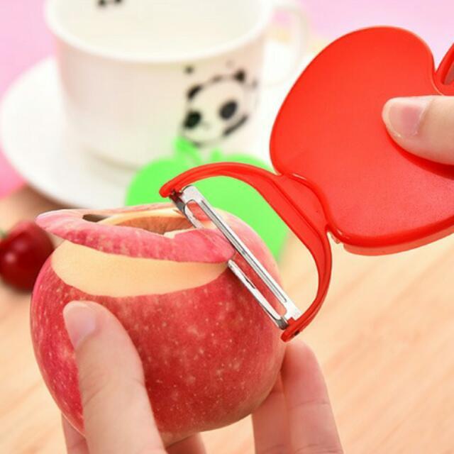 創意造型摺疊削皮刀 廚房削皮刀 水果刀 摺疊水果刀 可攜式水果刀 便攜水果刀