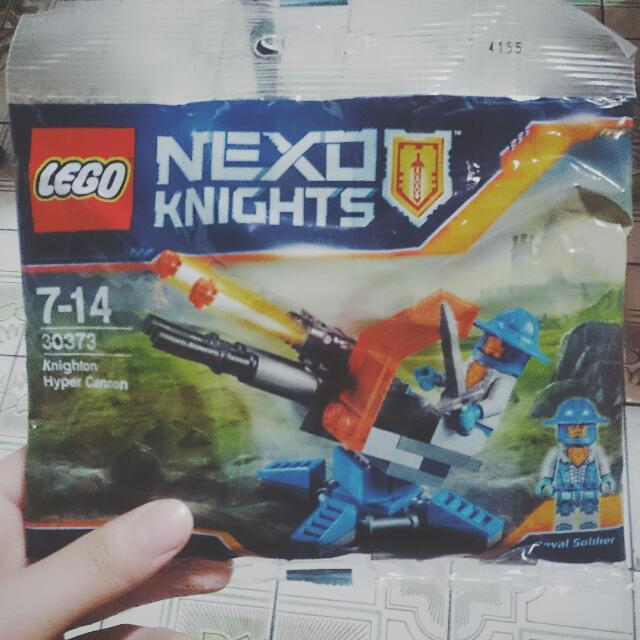 樂高 LEGO NEXO Knights Knighton Hyper Cannon 30373 未來騎士團 人偶包