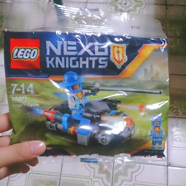 樂高 LEGO NEXO Knights Knight's Cycle 30371 未來騎士團 人偶包