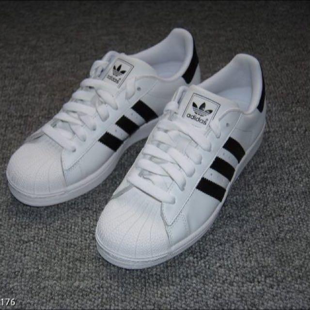 Adidas 黑白標