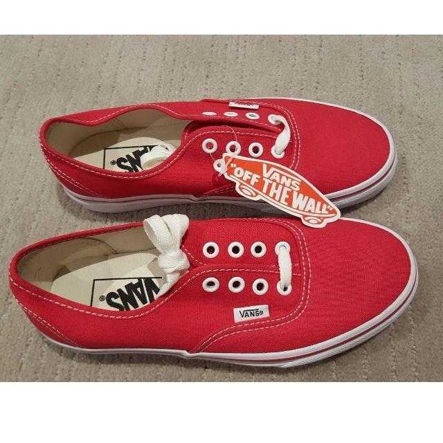 BRAND NEW Red Vans