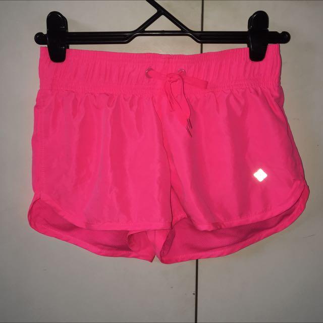 Bright Pink Sports Shorts
