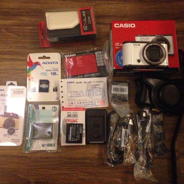 CASIO美顏相機 EX-ZR3500