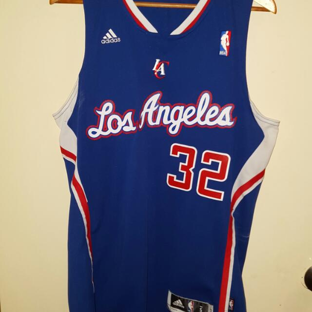 authentic adidas clippers jersey