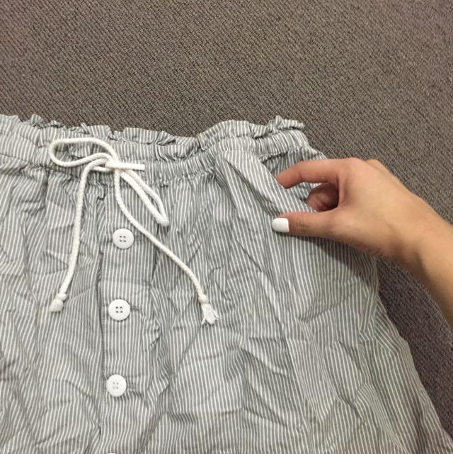 Cotton On Striped Skirt 10