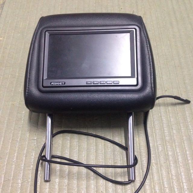 CRV 3代枕頭電視