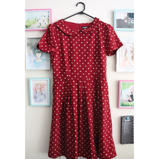 Dangerfield Polkadot Dress