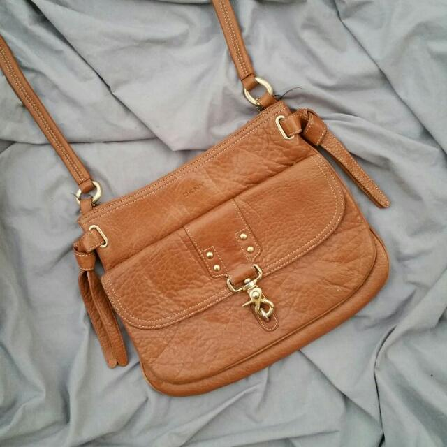 DONNA KARAN Leather Bag