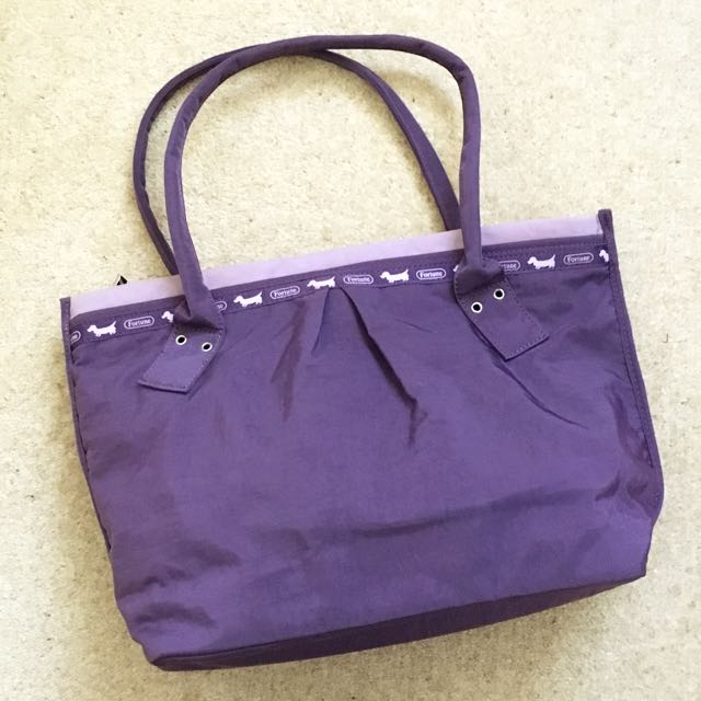 Fortune Purple Handbag