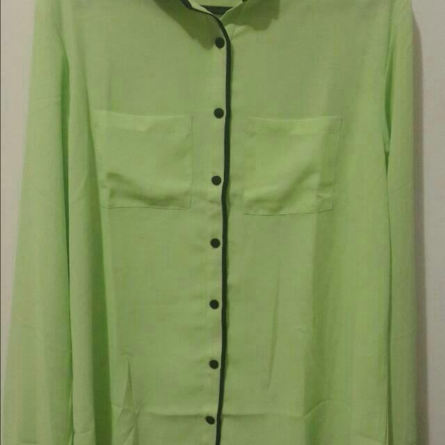 Green Summer Shirt