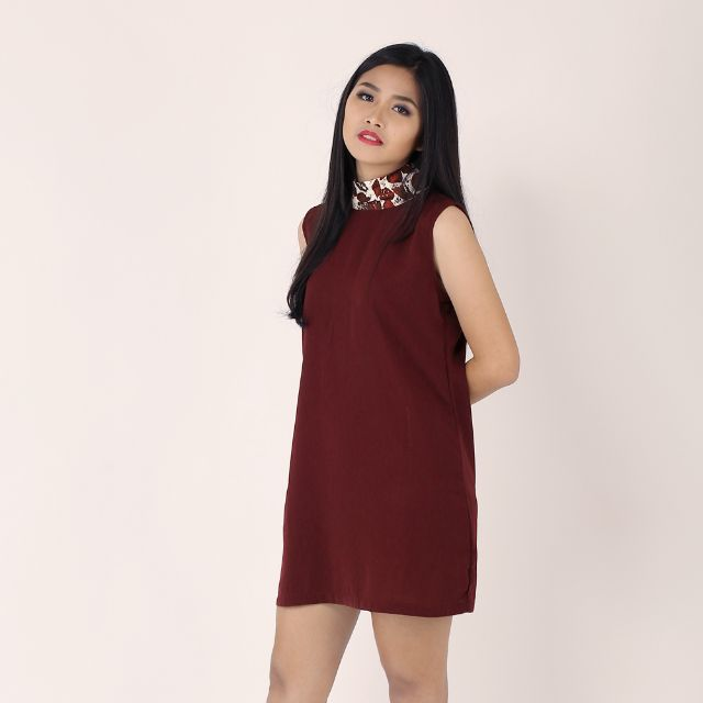 Maroon Ruby Dress