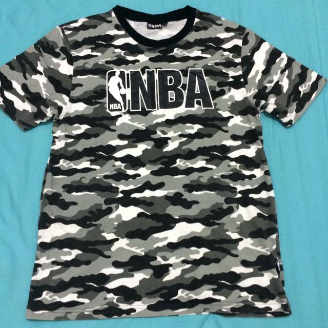 NBA迷彩短袖T恤