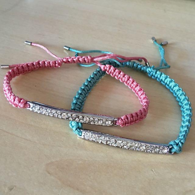 New Fossil Bracelets