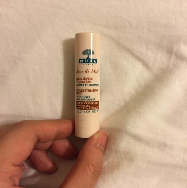 全新正品-法國NUXE護唇膏 (淡淡檸檬香)