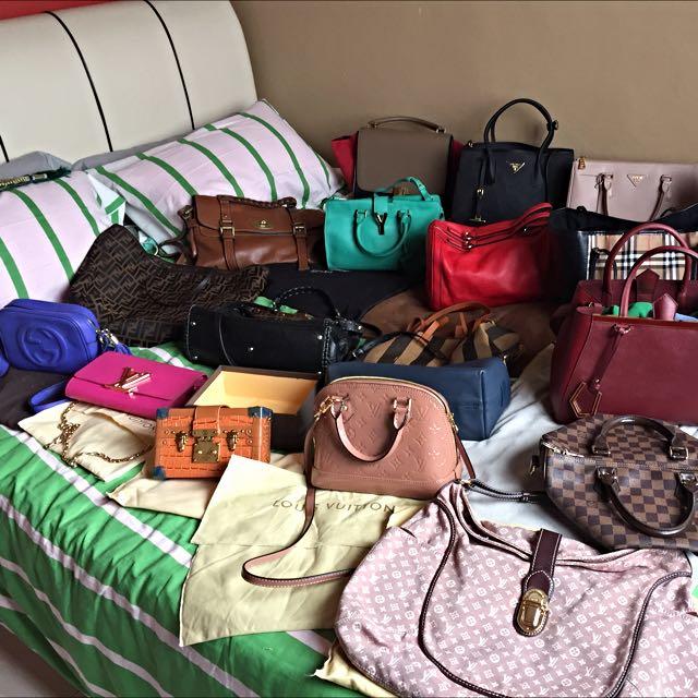 Preloved/ New Handbags