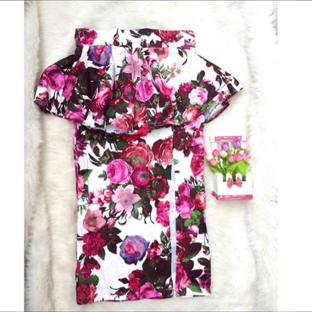 Premium Flower Skirt