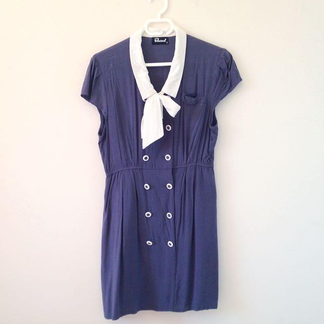 Revival sailor dress