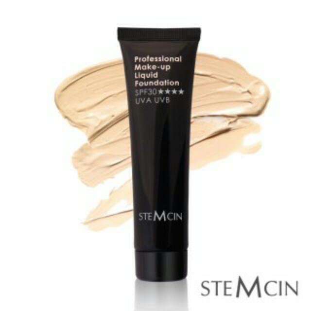 (有買就送)STEMCIN 潤色保濕防曬粉底乳