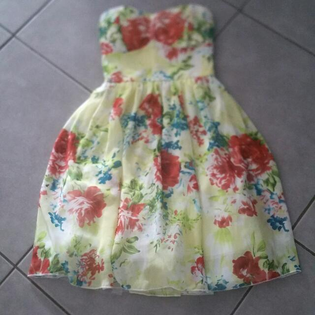Strapless Dress - Size 6