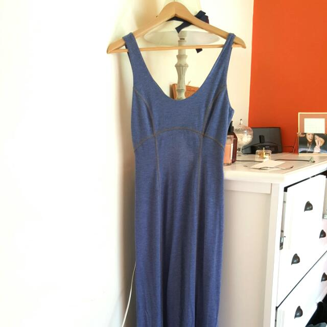Tight Casual Maxi Dress